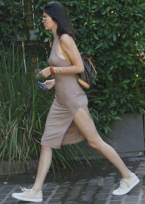 Kendall Jenner: Leaving The Villa Restaurant -27
