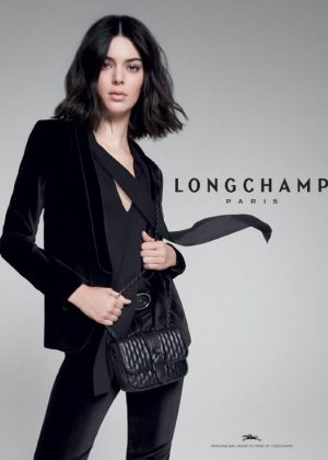Kendall Jenner - Longchamp 2018/2019 Campaign