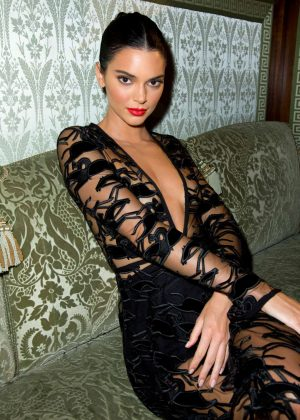 Kendall Jenner - Longchamp 70th Anniversary Party in Paris