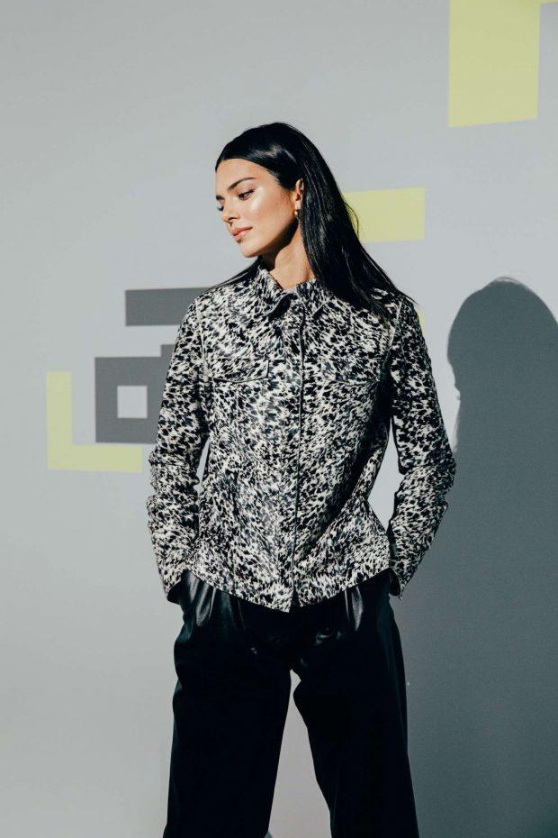 Kendall Jenner - Longchamp LGP Pop-Up Store Opening in Paris