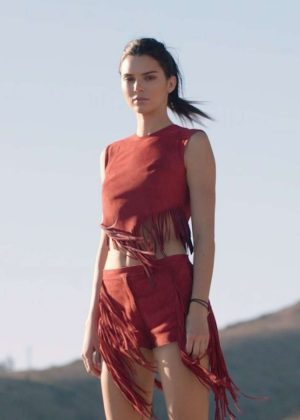 Kendall Jenner - Longchamp Spring/Summer Campaign by Vera Compoj 2019