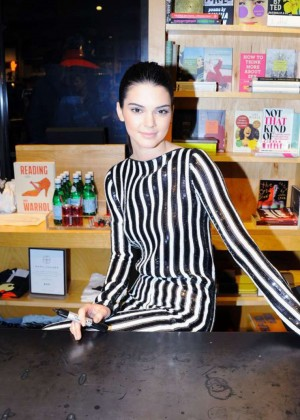 Kendall Jenner - Love Magazine Signing at Bookmarc in NYC