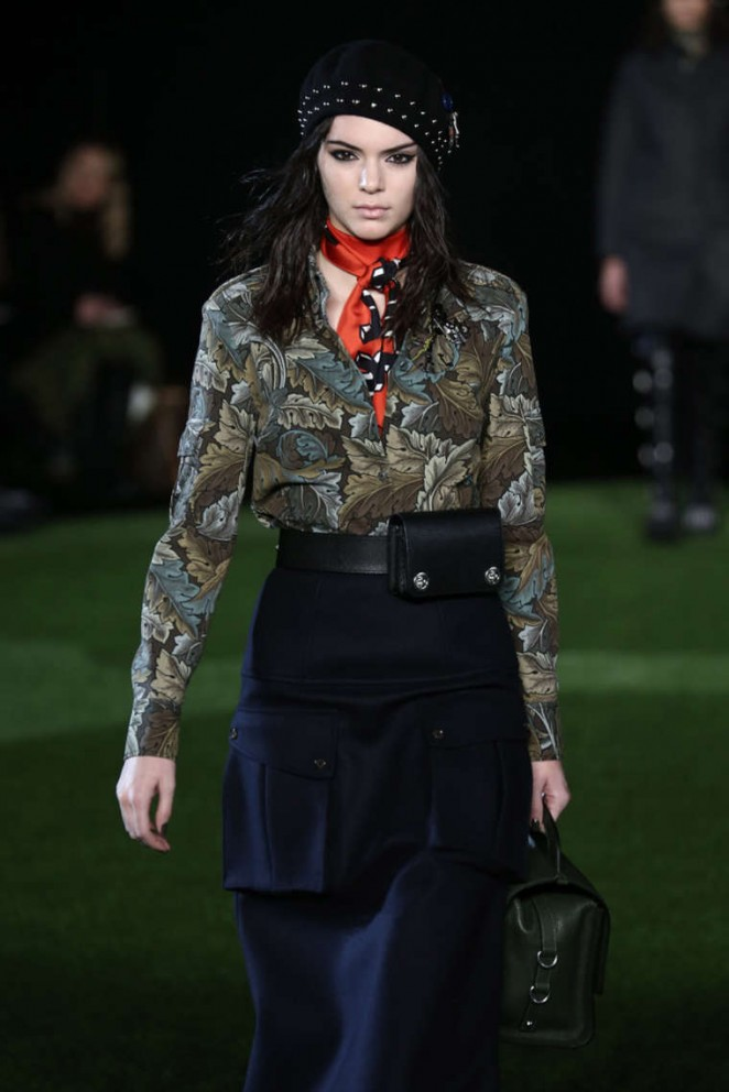 Kendall Jenner - Marc By Marc Jacobs Fashion Show 2015 in NYC