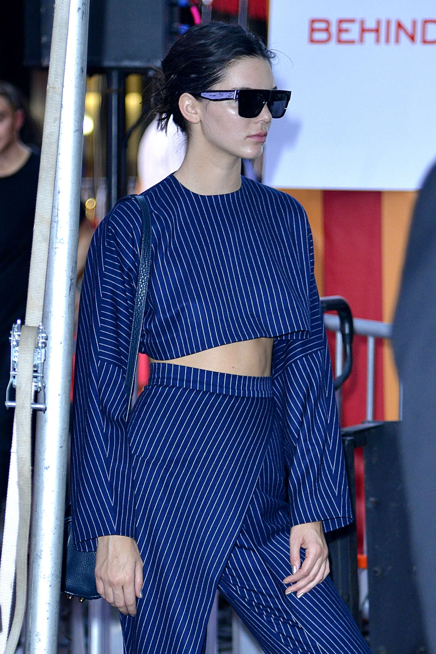 Kendall Jenner: Marc Jacobs Fashion Show Spring 2016 NYFW ...