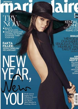 Kendall Jenner - Marie Claire Indonesia Cover Magazine (January 2015)
