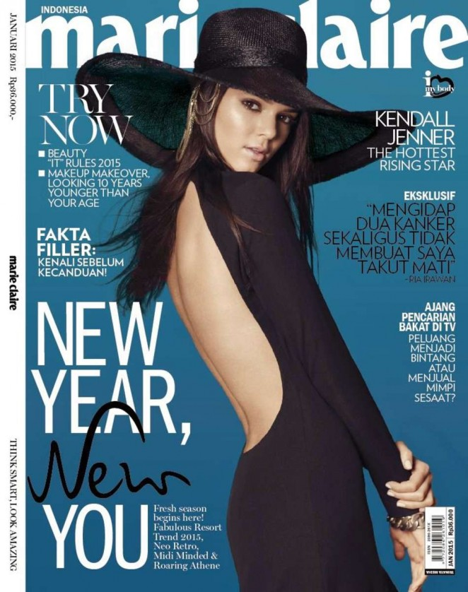 Kendall Jenner – Marie Claire Indonesia Magazine (January 2015)