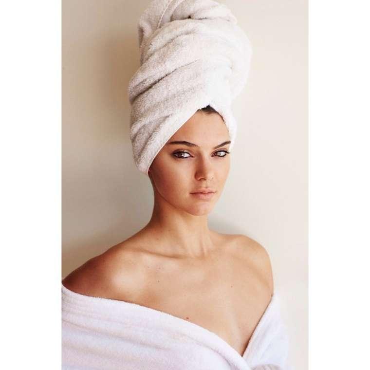 "Kendall Jenner - Mario Testino ""Towel Series 62"""
