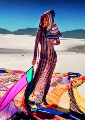 Kendall Jenner - Missoni Spring/Summer 2018 Campaign