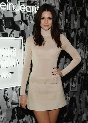 Kendall Jenner - Opening Ceremony + Calvin Klein Jeans' Denim Series Celebration Launch in LA