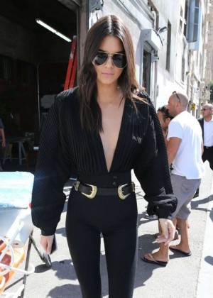 Kendall Jenner - Out & about in LA