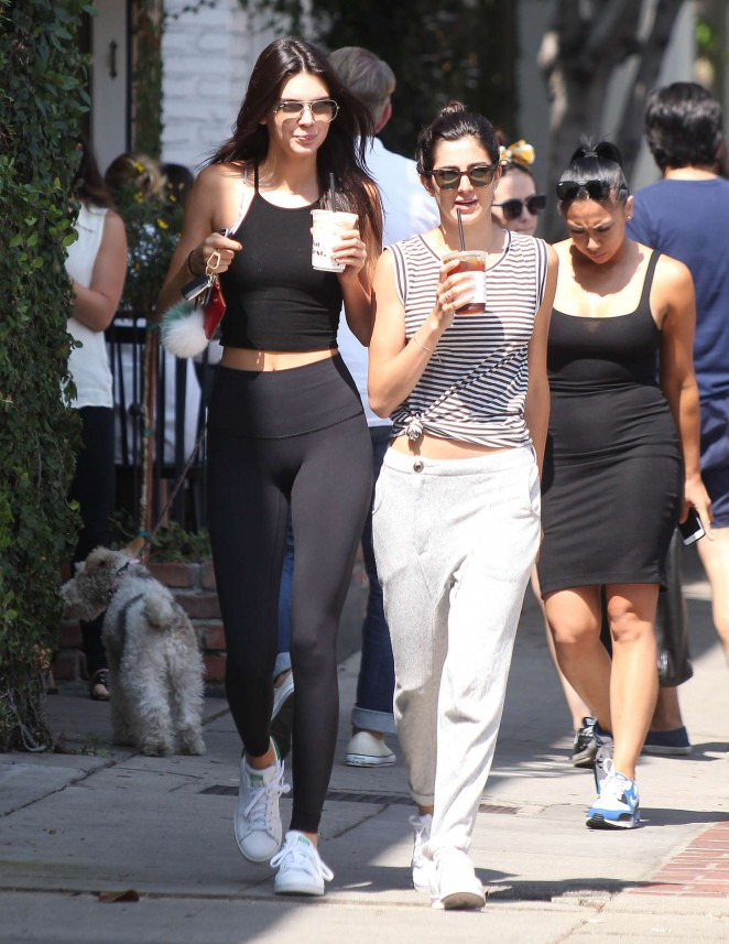 Kendall Jenner – Out and about in LA
