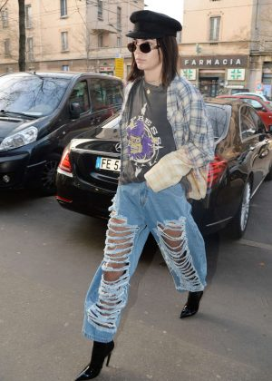 Kendall Jenner - Out and about in Milan