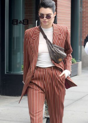 Kendall Jenner out and about in New York City