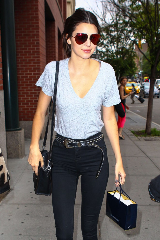 Kendall Jenner - Out and about in NYC