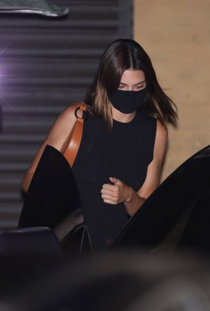 Kendall Jenner - Out for a dinner at Nobu in Malibu