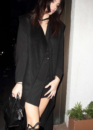 Kendall Jenner - Out For Dinner at Madeo in West Hollywood