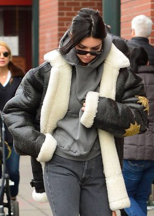 Kendall Jenner - Out for lunch in NYC