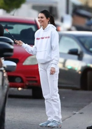 Kendall Jenner - Out in Los Angeles