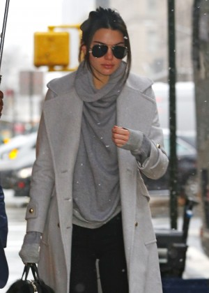 Kendall Jenner out in Manhattan