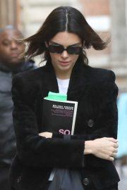 Kendall Jenner out in Milan during the 2020 Milan Fashion Week