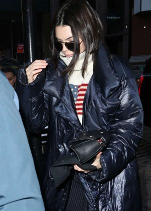 Kendall Jenner out in New York City -05