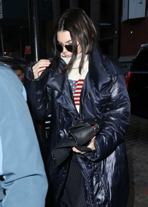 Kendall Jenner out in New York City -08
