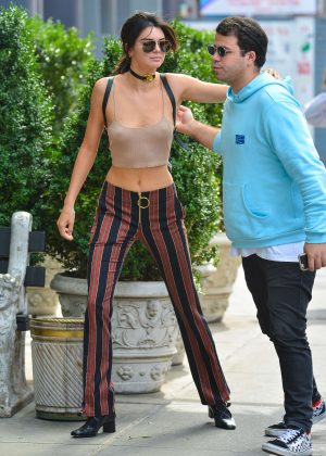 Kendall Jenner out in New York City -11