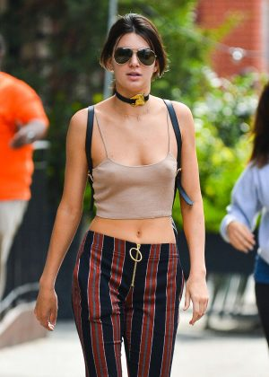 Kendall Jenner out in New York City -13