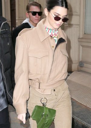Kendall Jenner out in Soho for New York Fashion Week