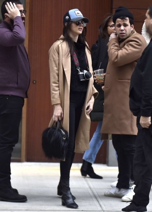 Kendall Jenner out in Soho New York
