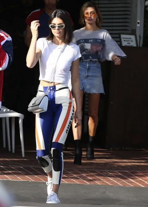 Kendall Jenner out shopping in LA