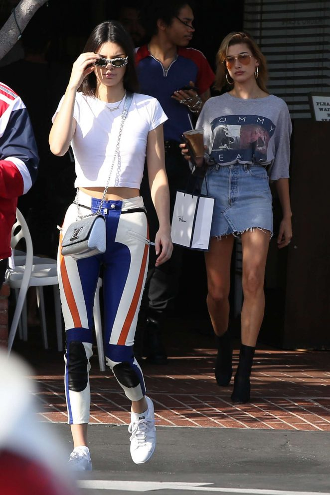 Kendall Jenner out shopping in LA -09