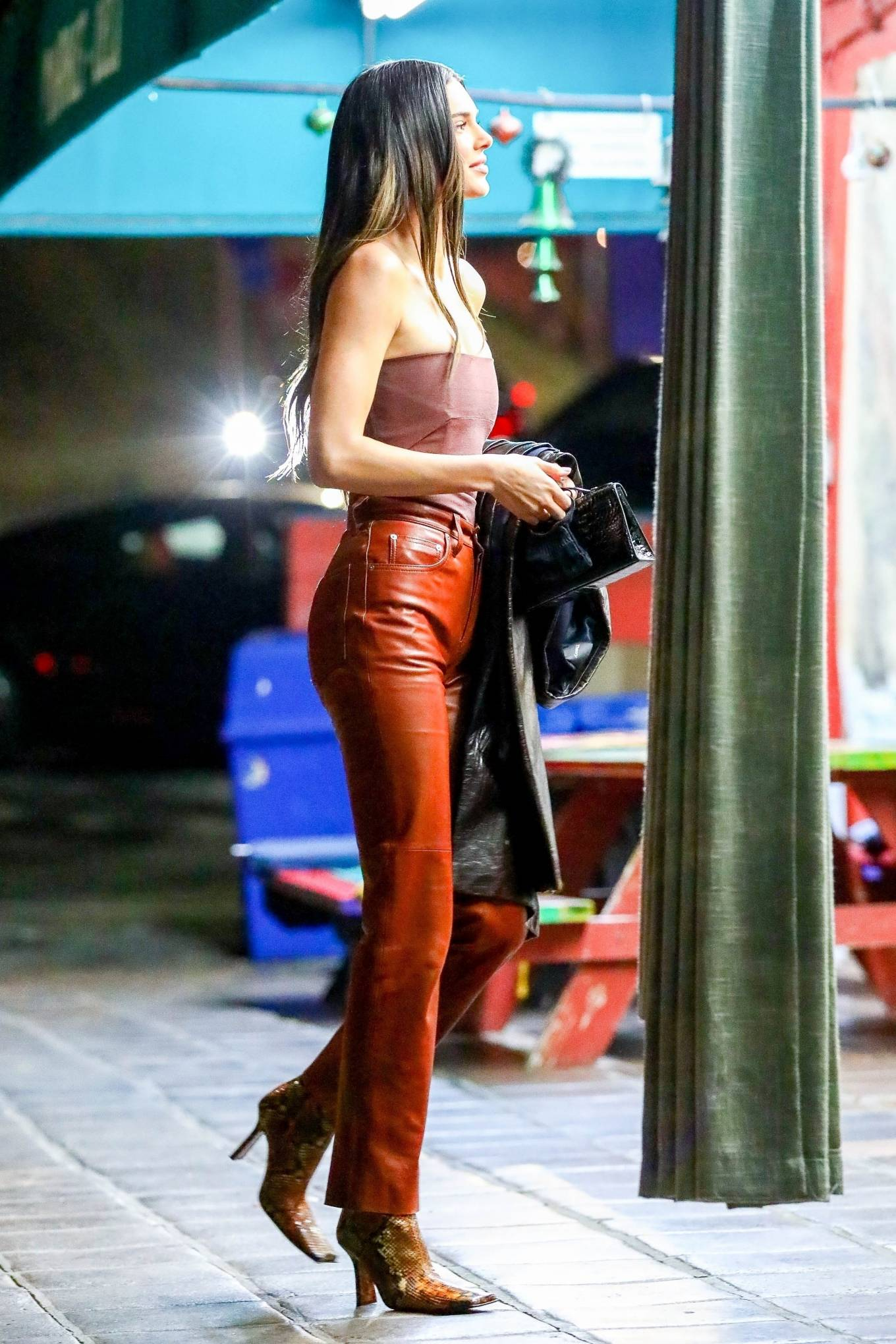 Kendall Jenner 2021 : Kendall Jenner – Out with her friend Derek Blasberg at Delilah in West Hollywood-06