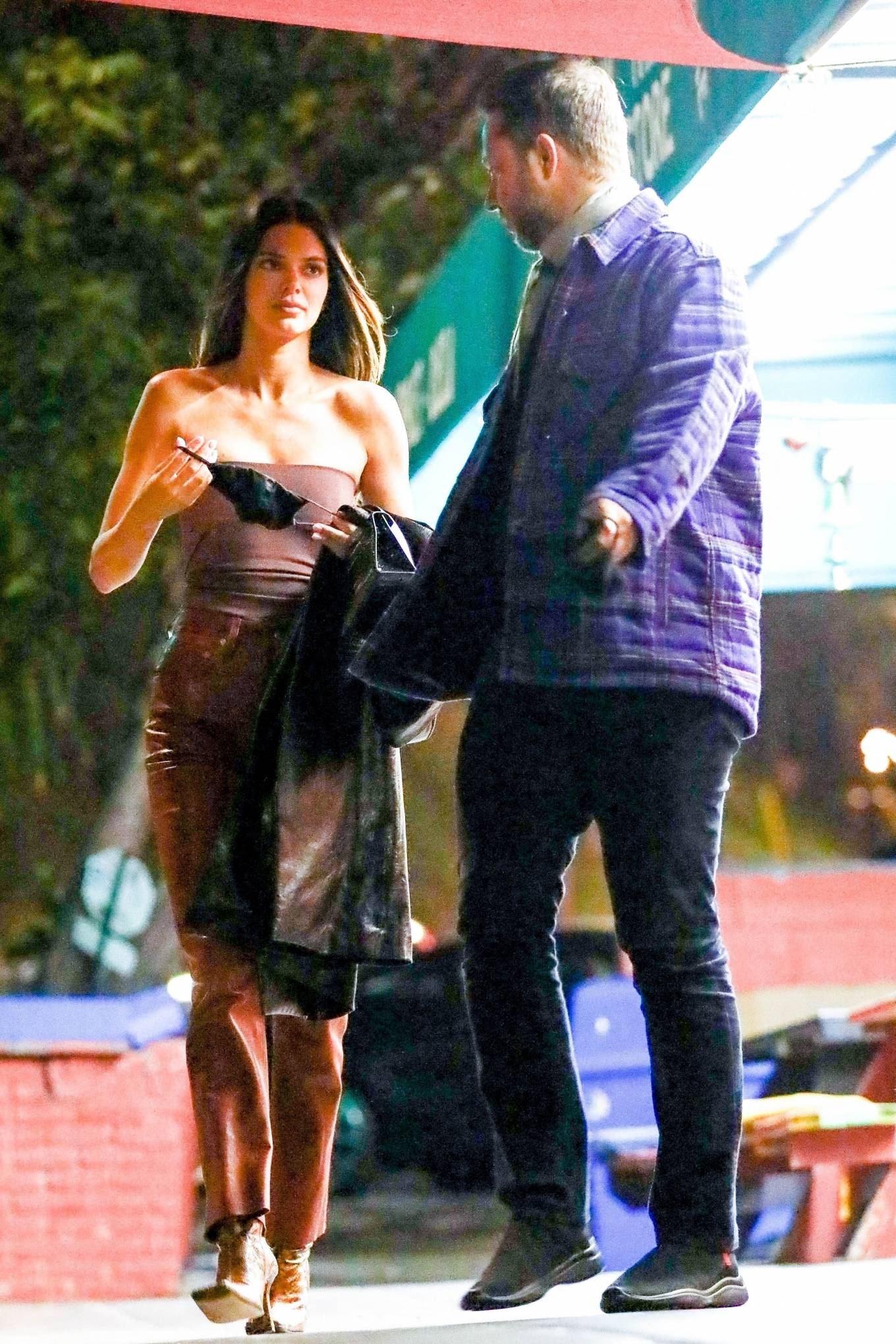 Kendall Jenner 2021 : Kendall Jenner – Out with her friend Derek Blasberg at Delilah in West Hollywood-07