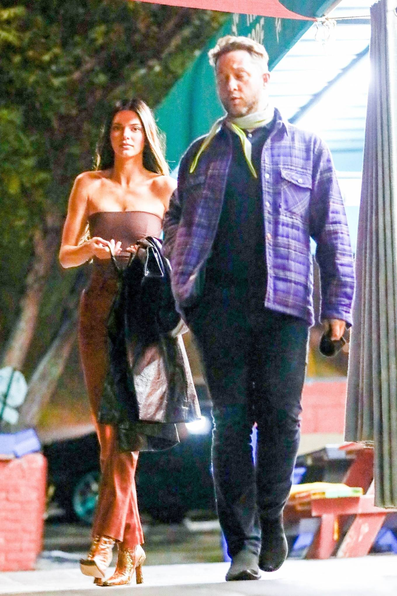 Kendall Jenner 2021 : Kendall Jenner – Out with her friend Derek Blasberg at Delilah in West Hollywood-25