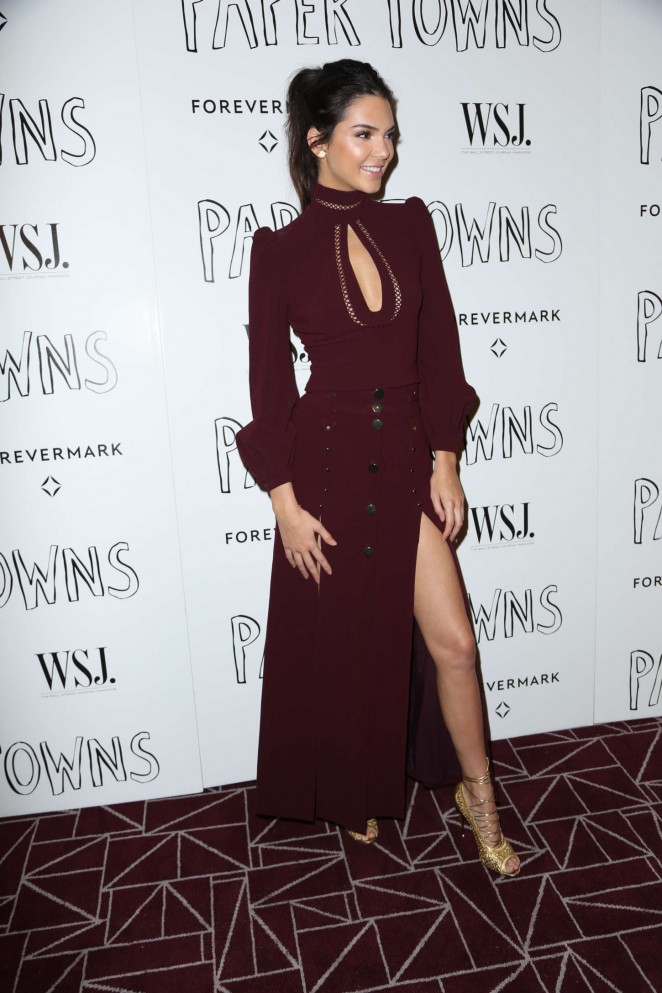 Kendall Jenner: Paper Towns Screening -01