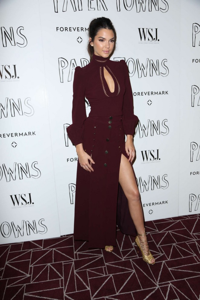 Kendall Jenner: Paper Towns Screening -10