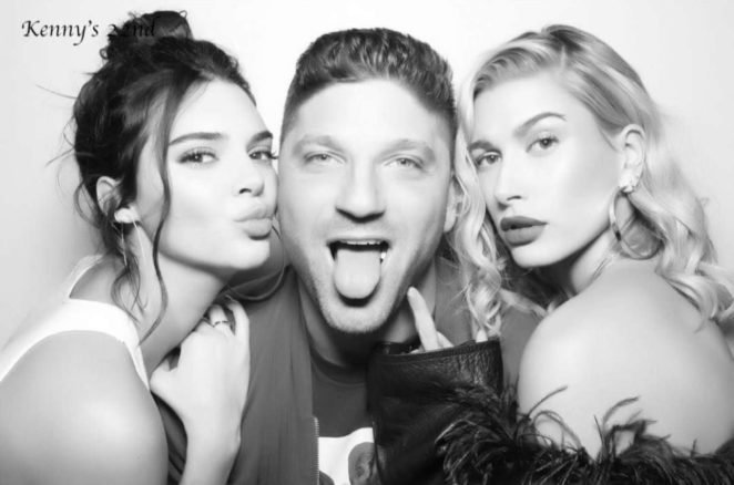 Kendall jenner photo booth at her birthday party 07