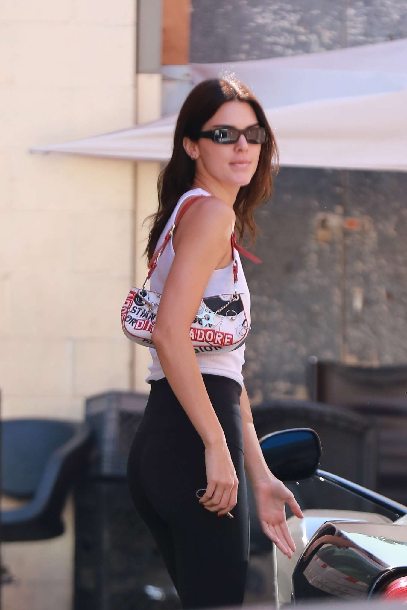 Kendall Jenner - Pictured while out for lunch in Beverly Hills