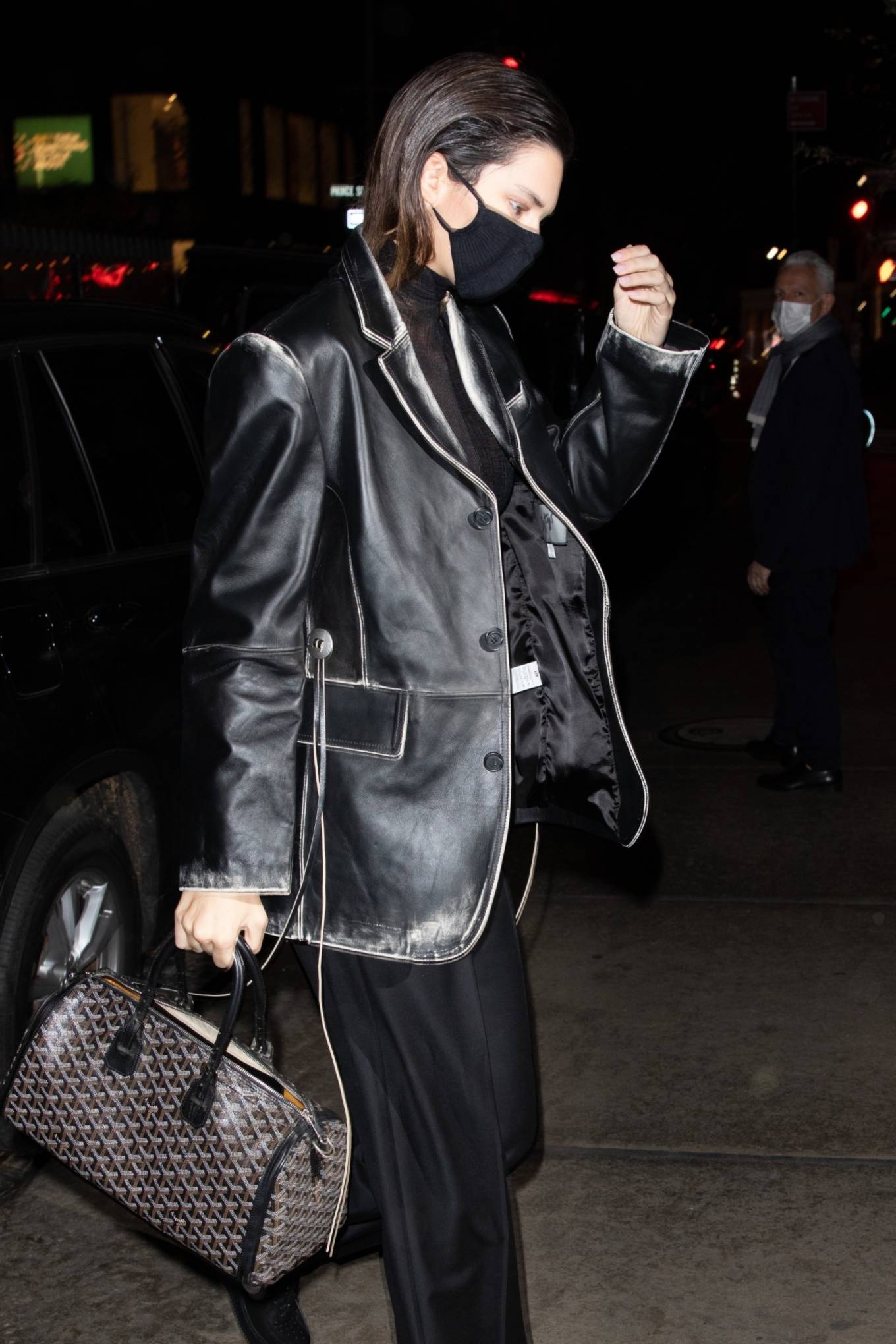 Kendall Jenner - returning to her hotel in NYC