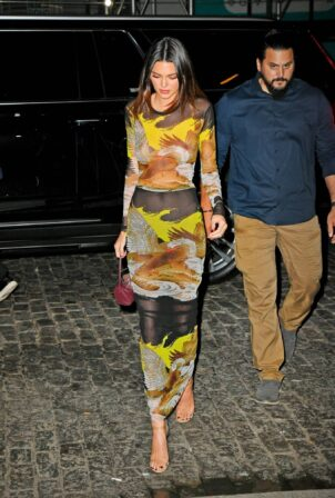Kendall Jenner - returns to the Greenwich hotel in New York