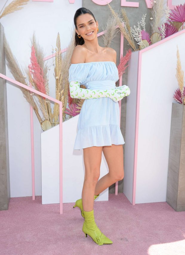 Kendall Jenner: Revolve Party at Coachella -03