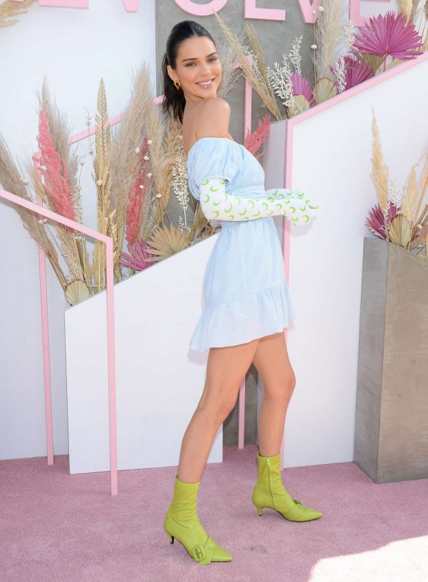 Kendall Jenner: Revolve Party at Coachella -06