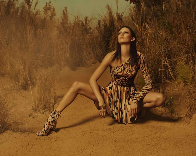 Kendall Jenner - Roberto Cavalli Spring/Summer 2019
