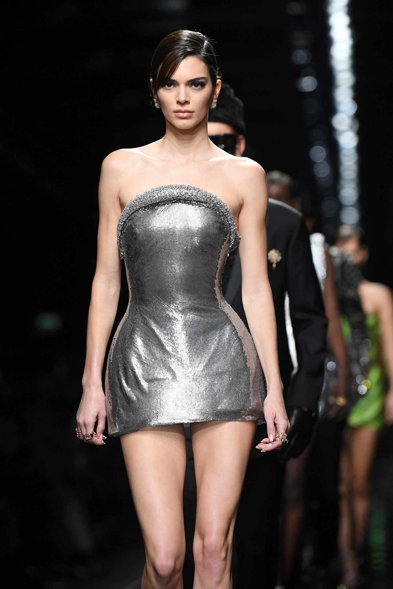 Kendall Jenner - Runaway at Versace show at Milan Fashion Week 2020