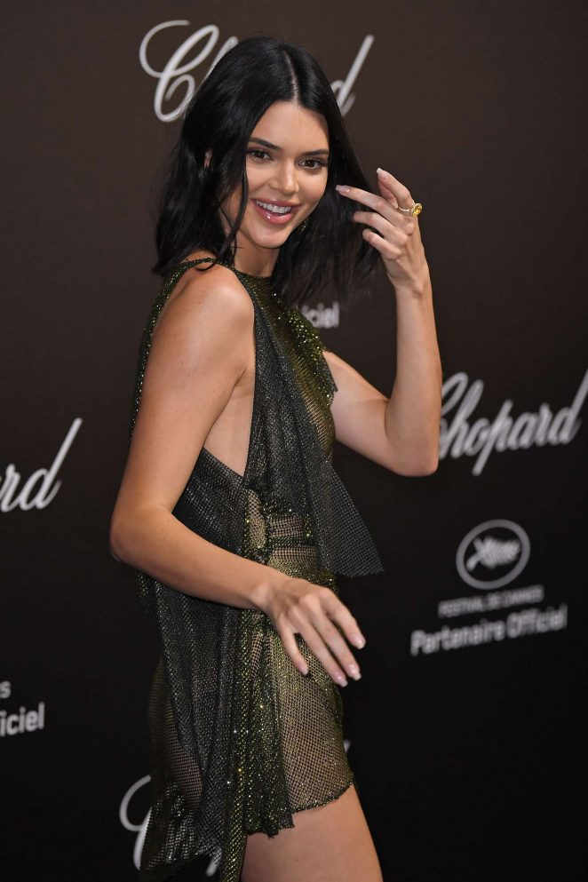 Kendall Jenner - Secret Chopard Party at 208 Cannes Film Festival