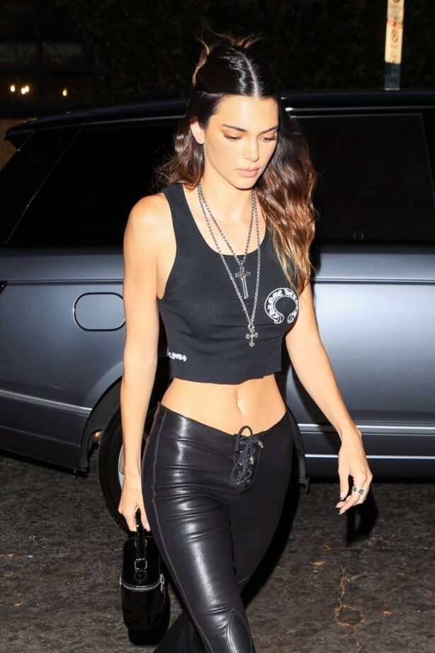 Kendall Jenner - Seen at Chrome Hearts in Los Angeles