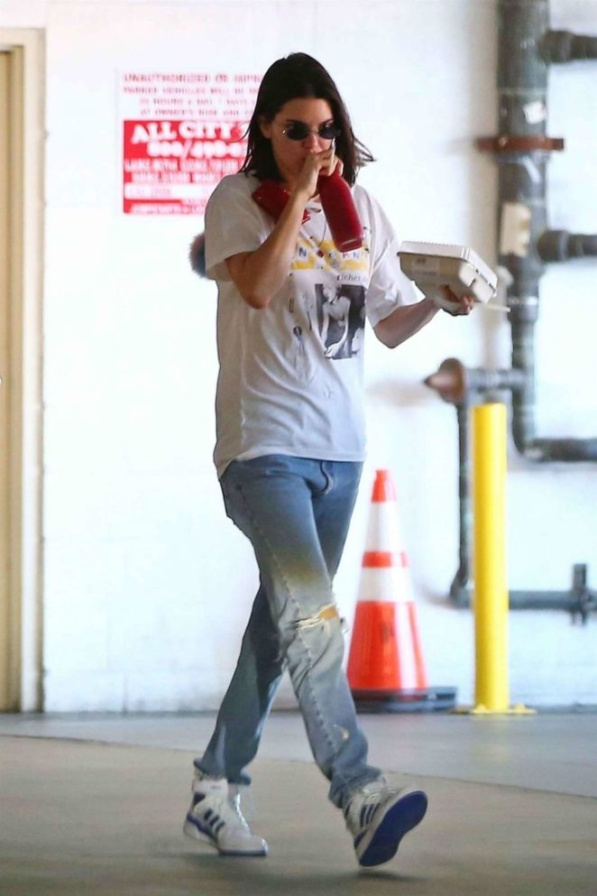 Kendall Jenner - Seen at Erewhon in LA