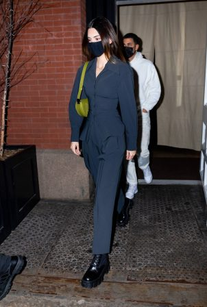Kendall Jenner - Seen at Nobu in New York