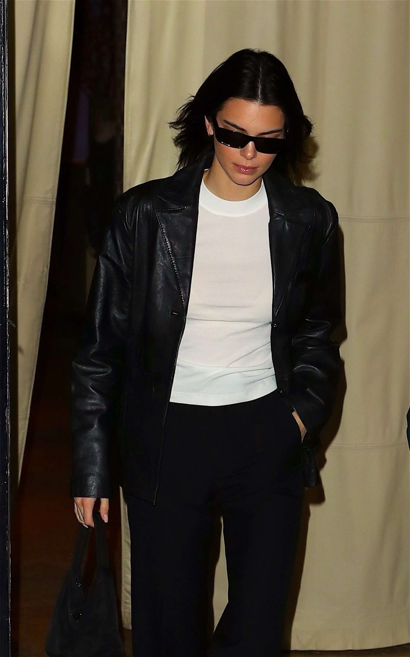 Kendall Jenner - Seen leaving her hotel in NYC
